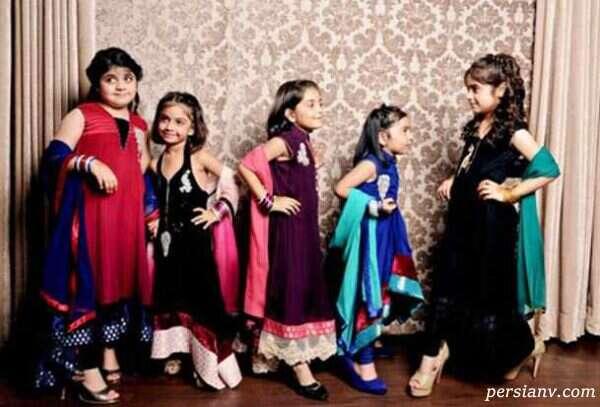 مدل پیراهن های مجلسی هندی برای دختربچه ها