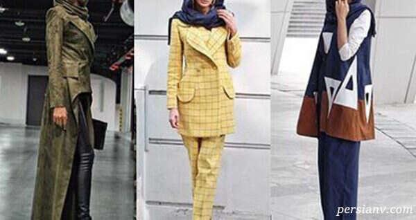 مدل مانتو با طرح های زیبای ایرانی