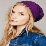 مدلهای جدید و زیبای کلاه بافت دخترانه +عکس