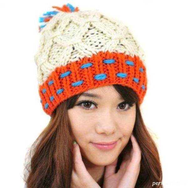 کلاه بافت دخترانه