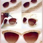 آموزش تصویری تزیین عینک های آفتابی!