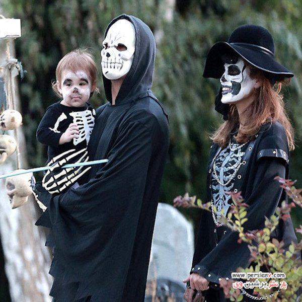 ستاره های هالیوود در جشن هالووین