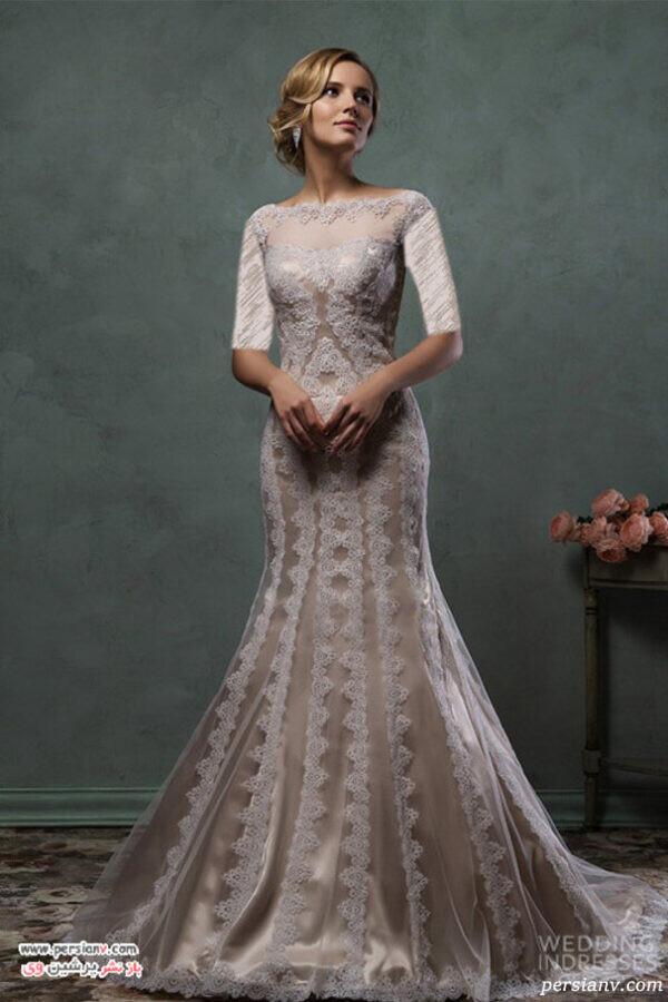 پیراهن زیبای عروس