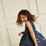 دخترکوچولوی مشهور مدل زمستانی برند Mini Boden
