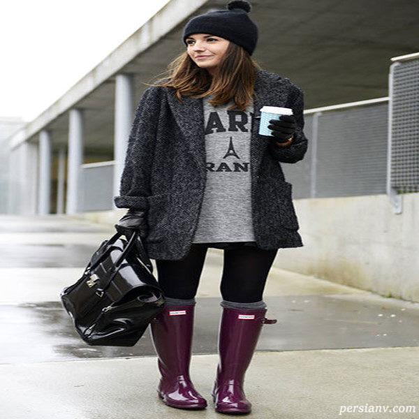 ایده های لباس زمستانی