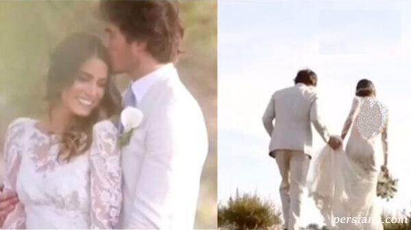 لباس عروس ستاره هایی که عروس شدند +عکس