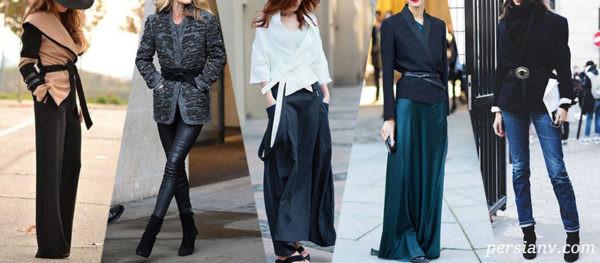 کت های چپ و راستی بسیار زیبا برای زمستانه شیک پوشان