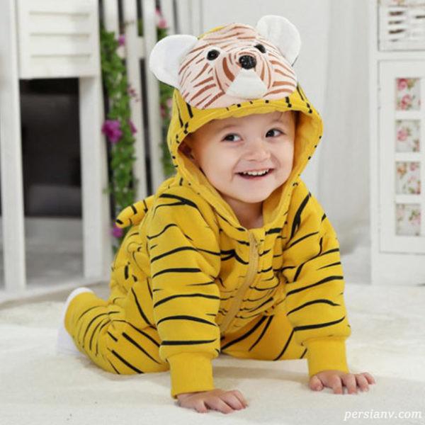 جدیدترین مدل لباس های سرهمی بچه گانه