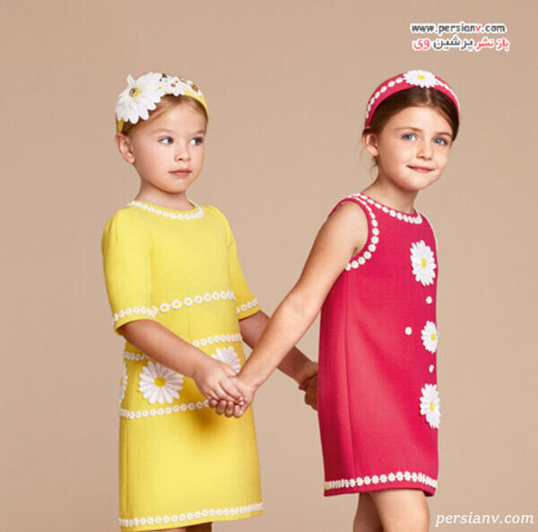 مدل لباس دخترانه دولچه و گابانا