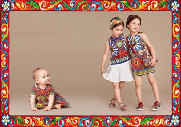 مدل لباس های دخترانه دولچه و گابانا در بهار و تابستان +عکس(۱)