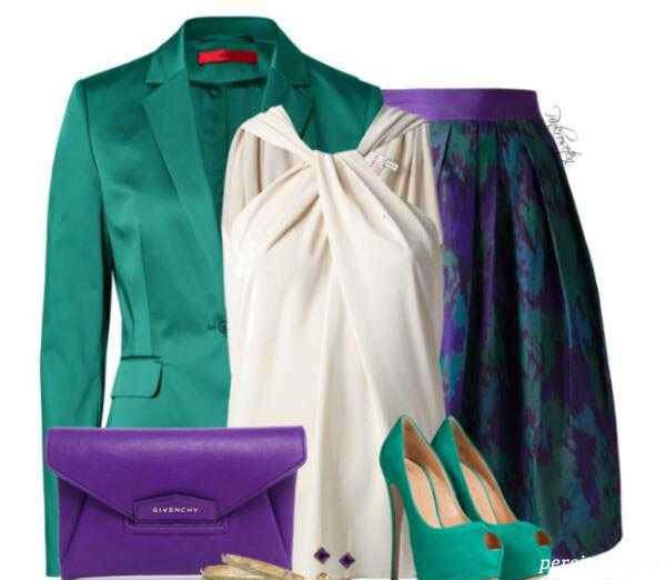 ست لباس مجلسی بهاره زنانه
