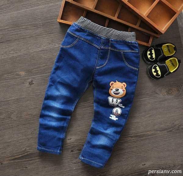 جدیدترین مدل شلوار جین بچگانه بسیار شیک ۲۰۱۶ + تصاویر
