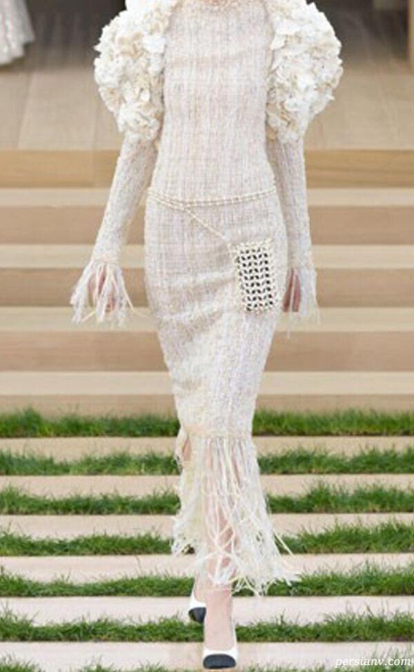 لباس عروس زیبا و متفاوت