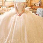 جدیدترین مدل لباس عروس دانتل خارجی