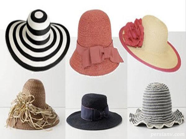 شیک ترین مدل کلاه های تابستانه مخصوص خانم های شیک پوش + تصاویر