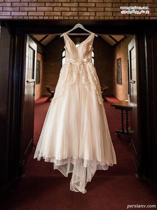 لباس عروس مادر دختر
