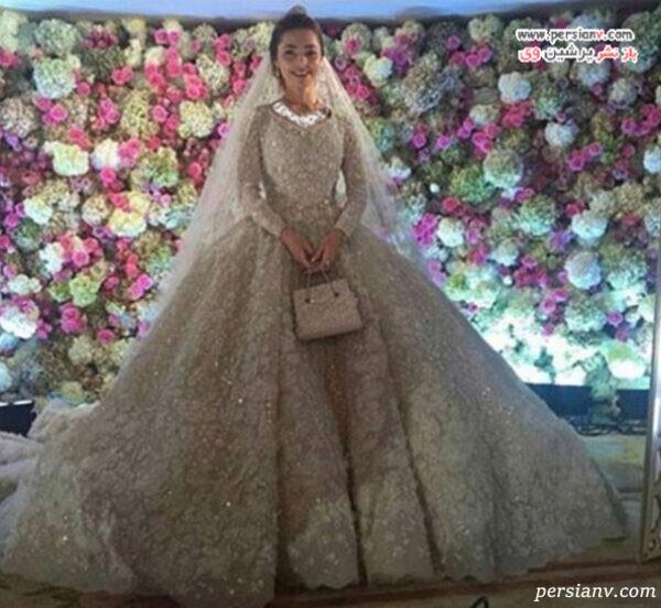 مدل لباس عروس خیره کننده