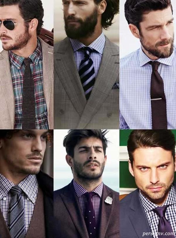 ست کردن پیراهن و کراوات
