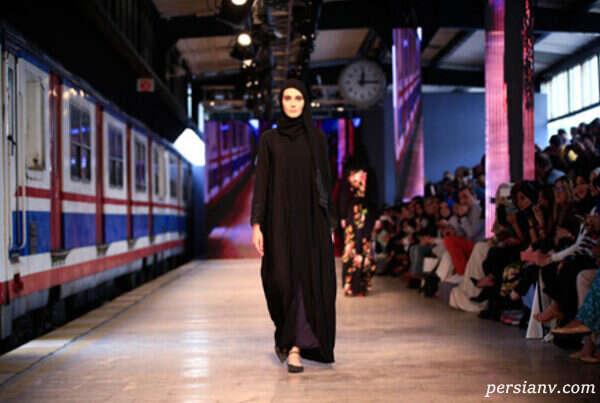 مدل لباس های اسلامی هفته مد در استانبول