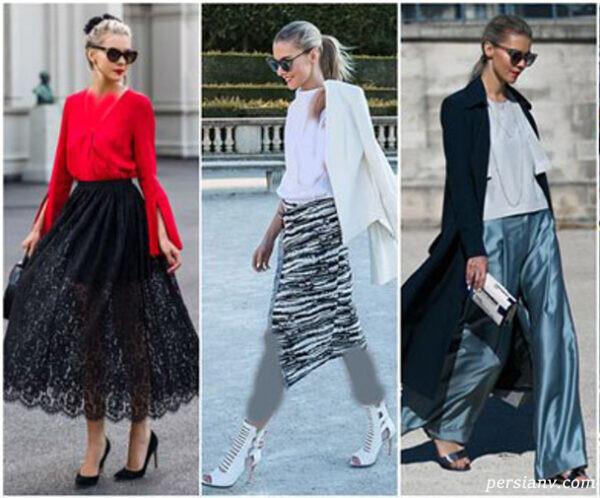 سبک پوشش طراحان مدل