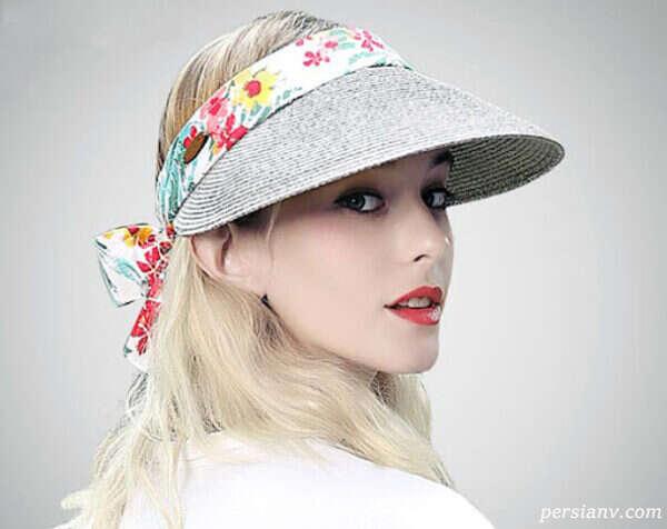جدیدترین مدل کلاه های حصیری کلاسیک زنانه