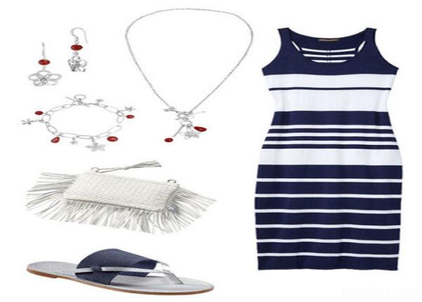 شیک ترین و جذاب ترین ست لباس تابستانه + تصاویر