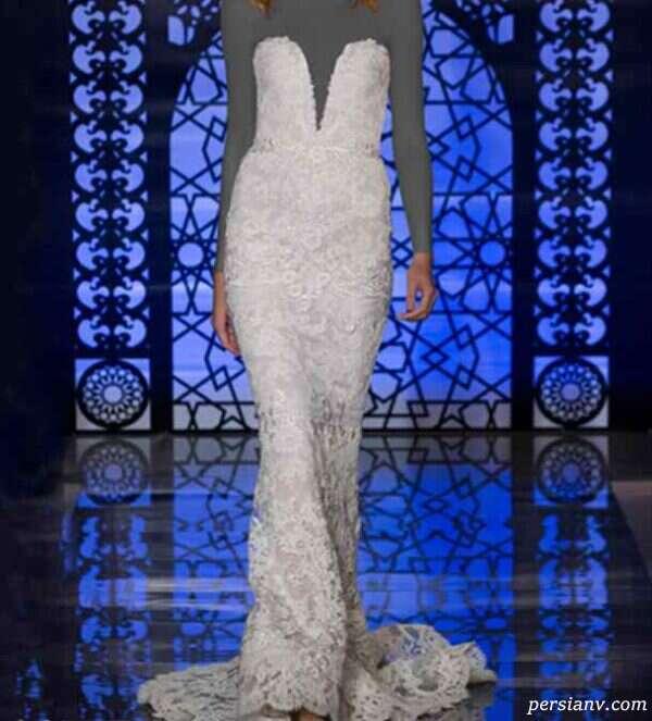 لباس عروس ریم آکرا