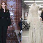 لباس عروس ریم آکرا که دل آنجلینا جولی و بازیگران اروپا را برده است