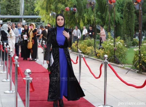 لباس بازیگران در جشن حافظ