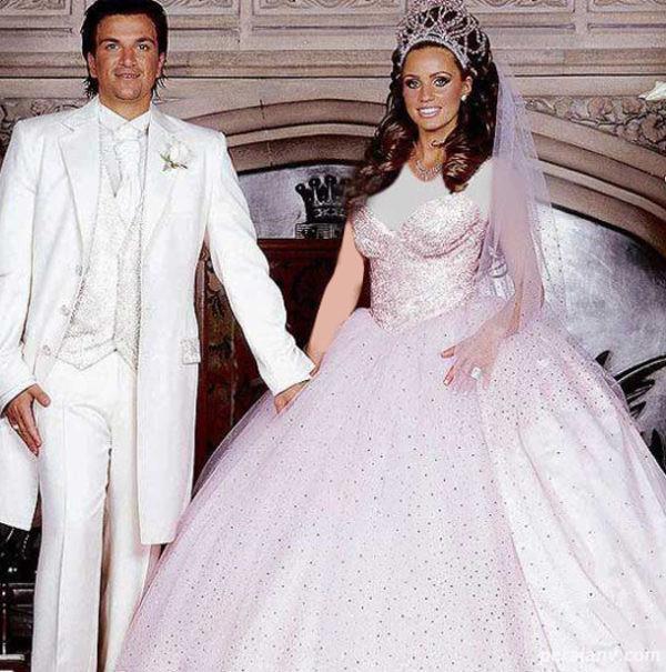 زشت ترین لباس عروس ها