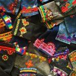 سوزندوزی بلوچی روی شلوارهای دختران ایرانی + تصاویر