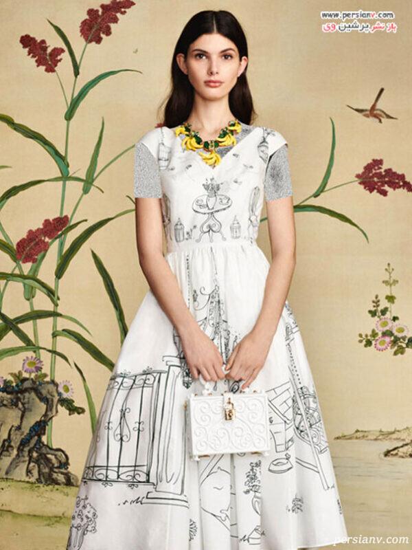 مدل لباس های زیبای دولچه و گابانا