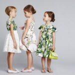 مدل لباس های زنانه دولچه و گابانا با طرح باغ گیاهان