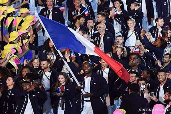 Lacoste برای تیم فرانسه