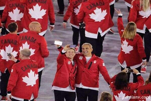 لباس ورزشکاران در المپیک ریور