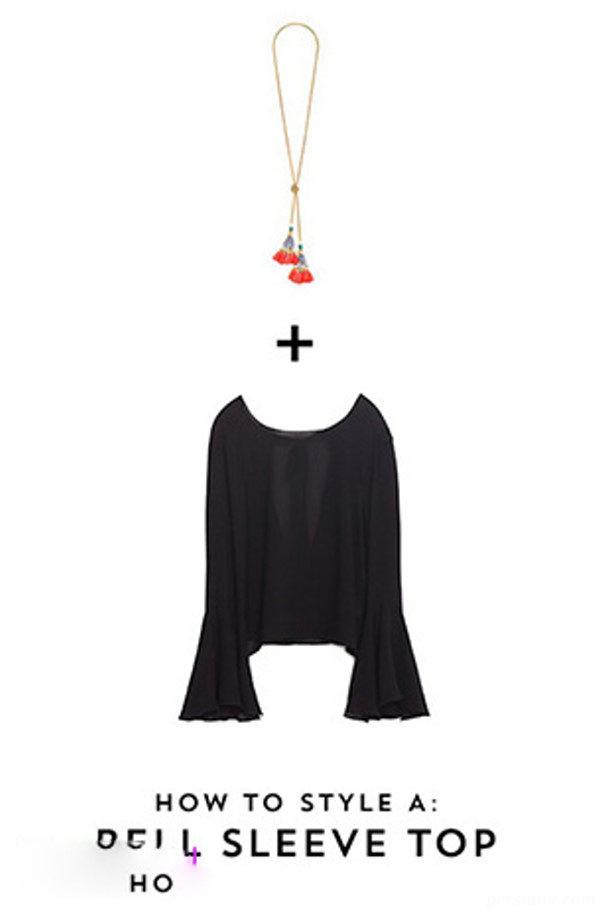 ست گردنبند با لباس مجلسی