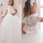 شیک ترین و جدیدترین مدل لباس عروس بچه گانه ۲۰۱۶ + تصاویر