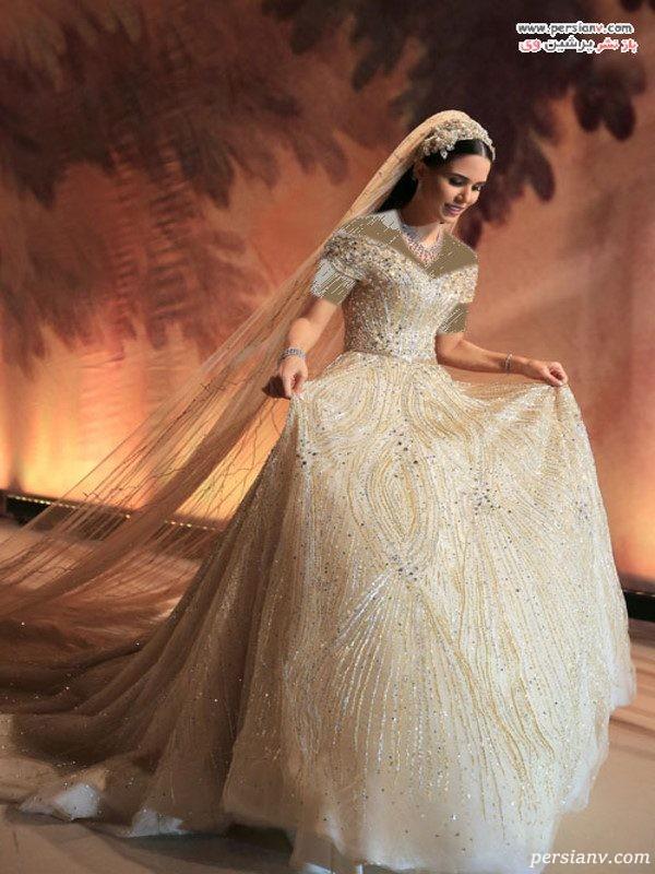 لباس عروس لبنانی