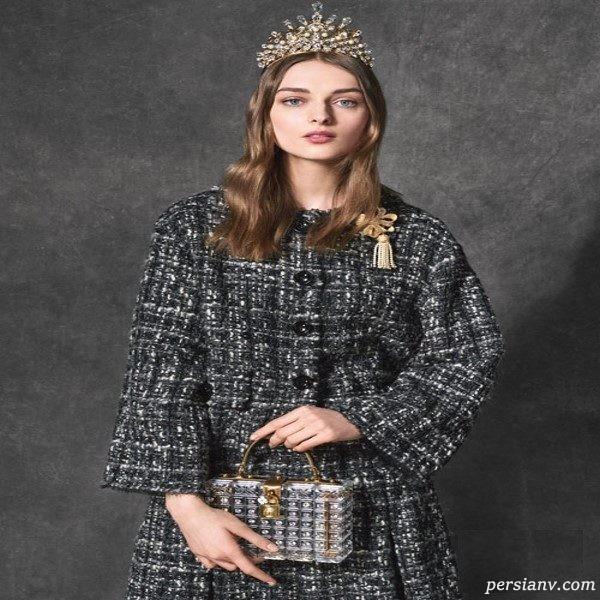 مدل مانتو زنانه پاییزی و زمستانی دولچه و گابانا