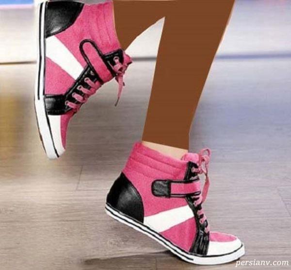 کفش اسپرت دخترانه و زیباترین کتونی های دخترانه