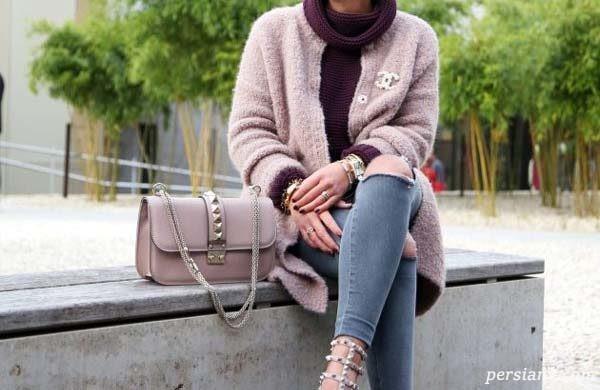 زیباترین ترکیب لباس شیک خاکستری برای شیک پوشی در پاییز و زمستان +تصاویر
