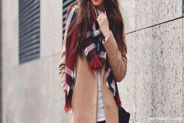 جدیدترین مدل های شال گردن برای شیک پوشی در پاییز