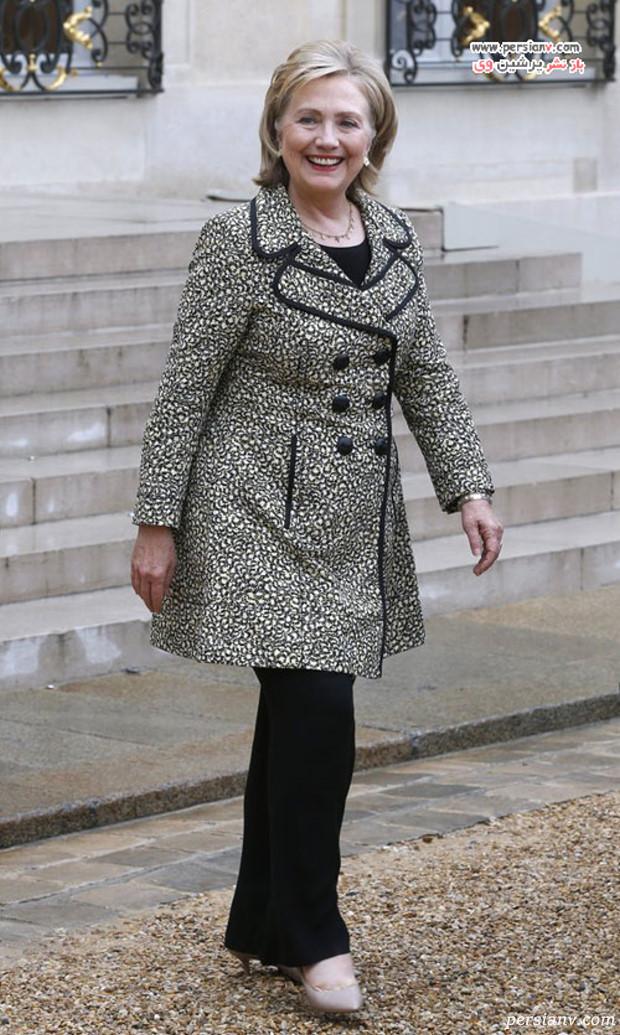 مدل لباس هیلاری کلینتون