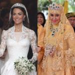 لباس عروسی خیره کننده برازنده یک ملکه قلابی!