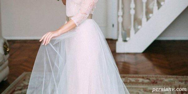 لباس عروس های غیرمنتظره در فشن شو لباس عروس ۲۰۱۷ +عکس