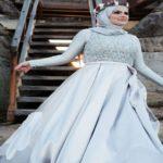 مدل لباس زیبا و جذاب بر تن عروس های کاملا باحجاب