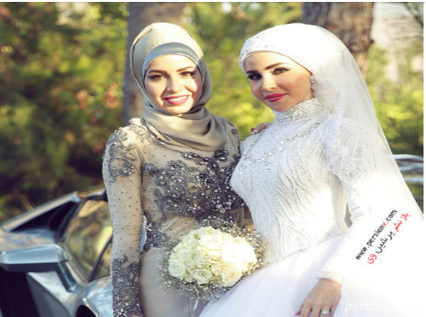 زیباترین عروس های باحجاب