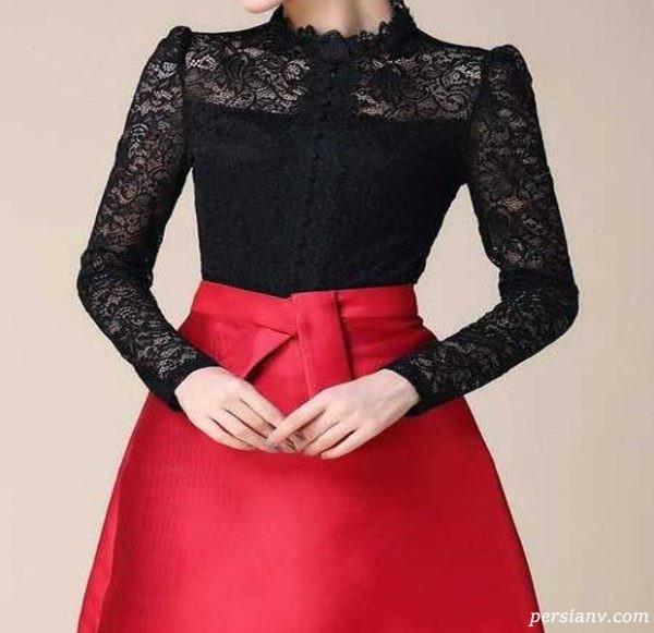 لباس مجلسی جذاب برای خانم خوش پوش