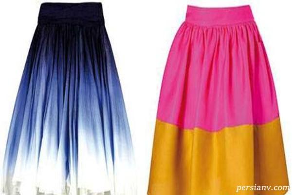 لباس های شیک ویژه خانم های چارشانه و بلند قد