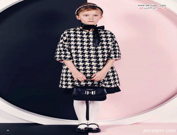 مدل لباس دخترانه مونالیزا